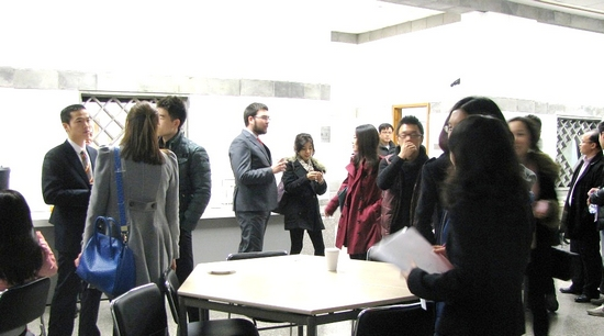 MBA Finance Club Holds Finance Industry Mixer
