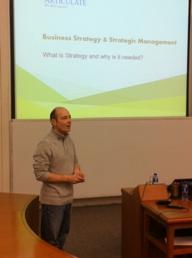 CEIBS MBA Management Consulting Club Hosts Alumni Lecture on Business Strategy