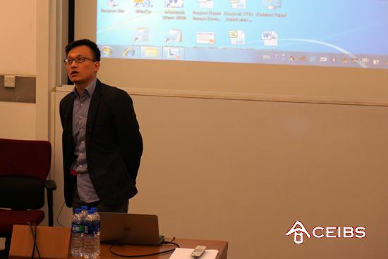 Dell China Public Relations Director Speaks at MBA IT Club