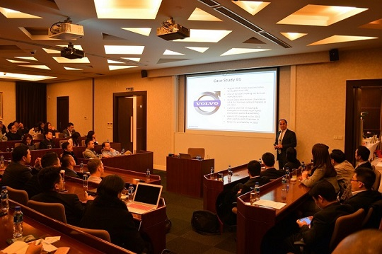 Cross-border M&A Forum Held by MBA Finance Club