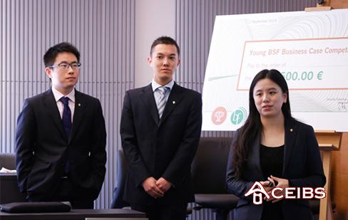 CEIBS MBA 2015 Team Shines in Bled Strategy Case Competition