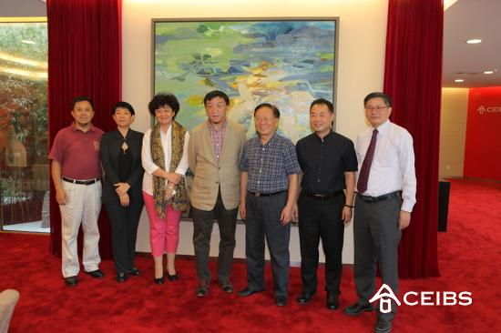 Beijing Inside-out Art Fund Donates Painting to CEIBS