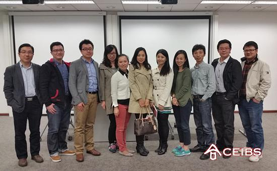 AstraZeneca Brand Managers Share Career Insights with CEIBS MBA Students