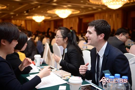 Impressive Turnout for 2015 CEIBS MBA Recruitment Fair