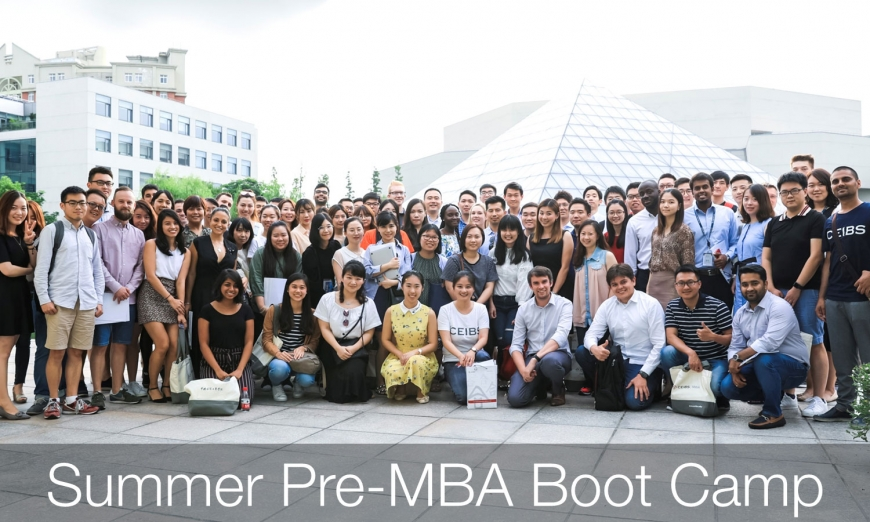 Summer Pre-MBA Boot Camp