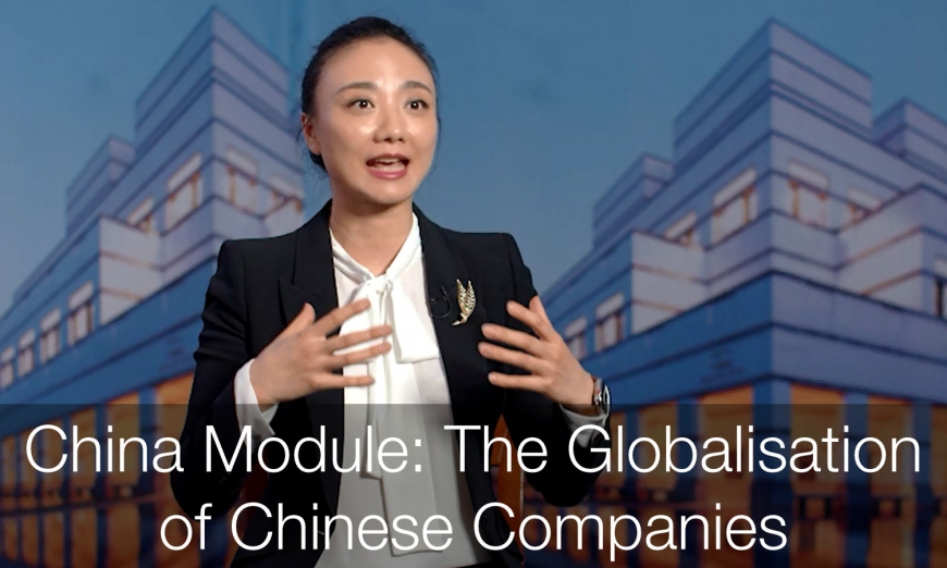 China Module: The Globlisation of Chinese Companies