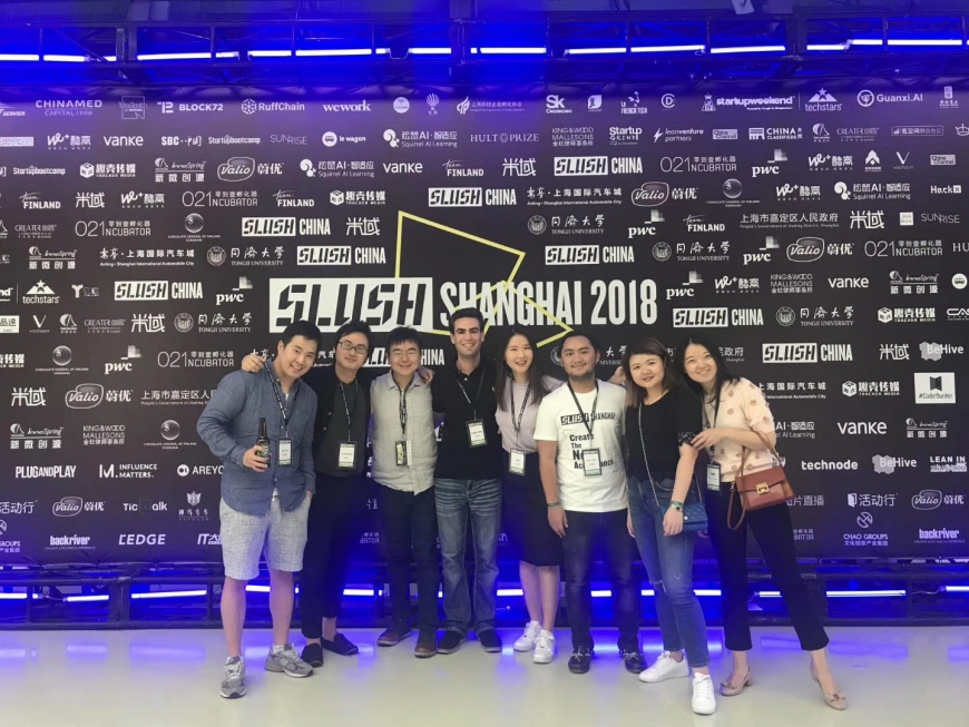 Slush Shanghai 2018 with CEIBS MBA Students