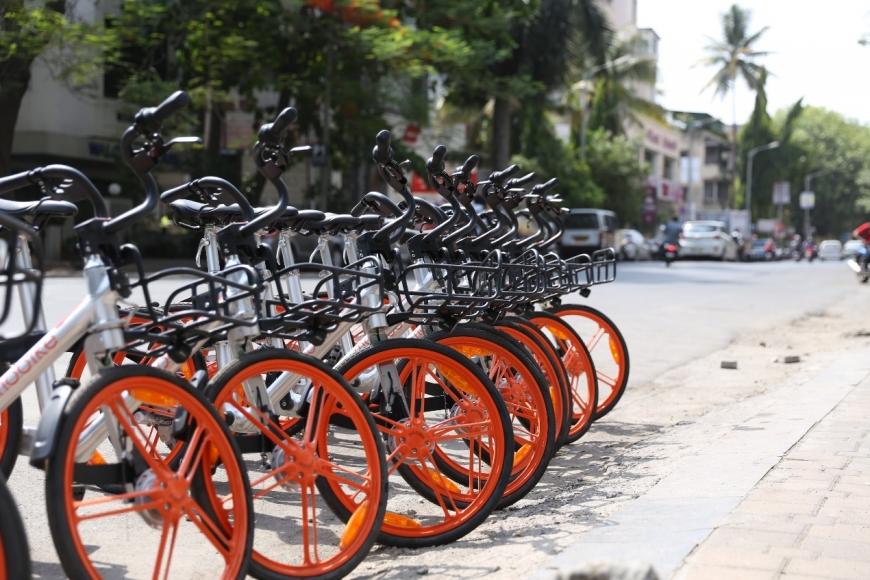 Mobike bikes